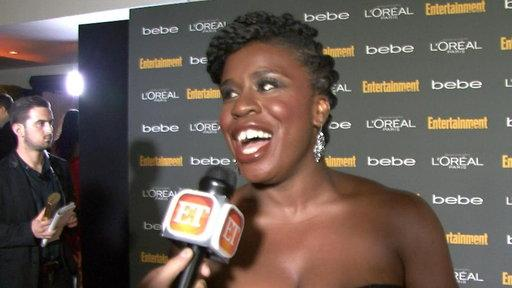 Going Crazy for 'New' Star Uzo Aduba