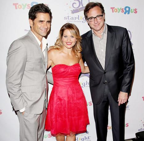 Full House Costars John Stamos, Bob Saget and Candace Cameron Bure Reunite, Reminisce About Show