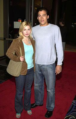 Premiere: Elisha Cuthbert and Andrew Keegan at the LA premiere of Miramax's Stolen Summer - 2/19/2002