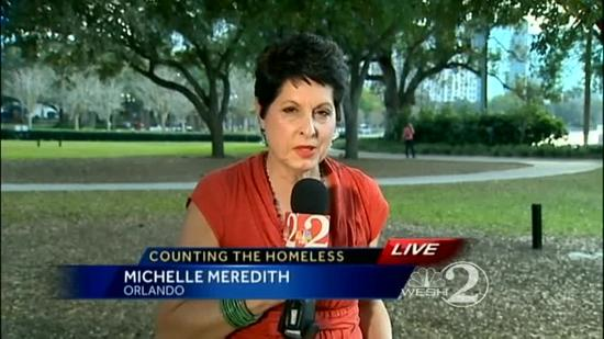 Orlando's homeless population counted for census