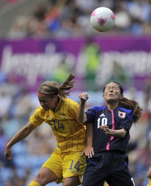 Homare Sawa of Japan and Johanna …