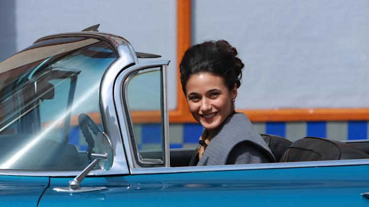 Emmanuelle Chriqui Cadillac Records Production Stills Tristar 2008
