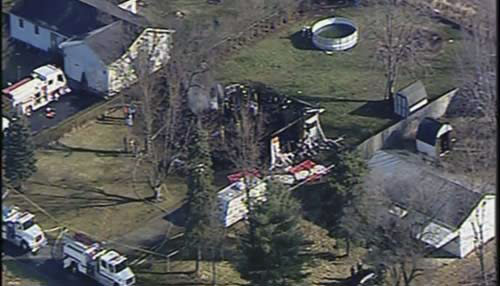 Bodies of woman, 3 grandsons found in burned home