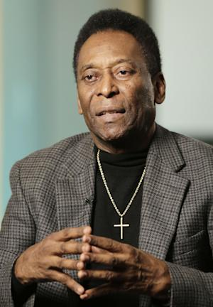 Pele critical of Brazil's World Cup organization