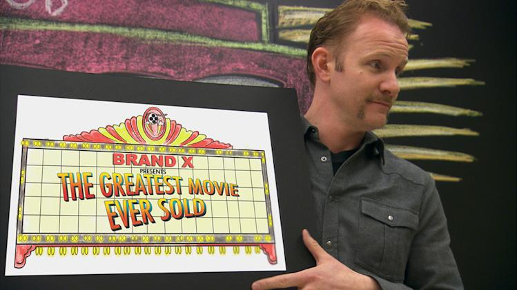Morgan Spurlock The Greatest Movie Ever Sold Poster Production Stills Sony Pictures Classics 2011