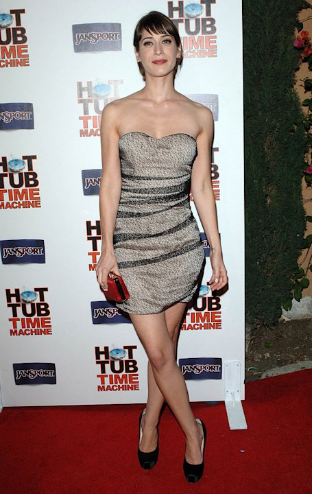 Hot Tub Time Machine LA Premiere 2010 Lizzy Caplan