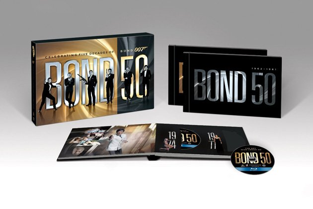 Bond 50 Blu-ray Giveaway