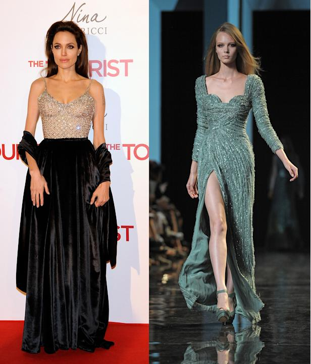 Angelina Jolie and Elie Saab