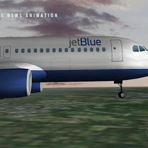 JetBlue plane has close call at NY airport