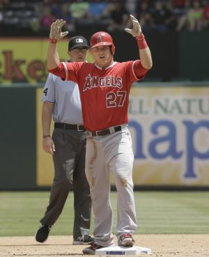 Third time a charm? Trout making another MVP bid