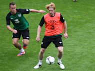 Paul McShane will not face Greece on Wednesday night