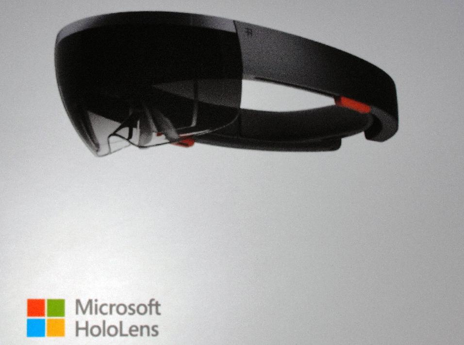 Microsoft HoloLens goggles captivate with holograms