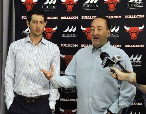 Bulls welcome a familiar face in Hinrich