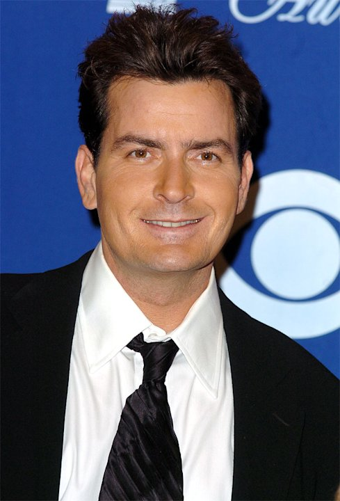 Charlie Sheen at The 30th Annual People's Choice Awards on January 11, 2004 