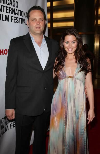 Vince Vaughn and Kyla Weber attend the Chicago International Film Festival at the Museum of Science and Industry, Chicago, June 12, 2010  -- Getty Images