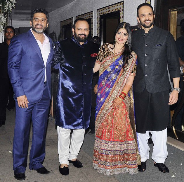Celebs at the Shetty wedding