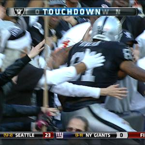 Oakland Raiders tight end Mychal Rivera 16-yard touchdown