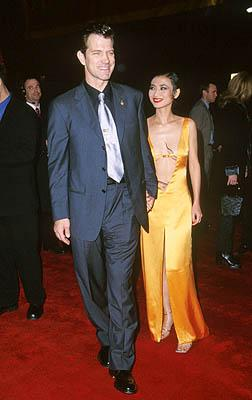 Chris Isaak and Bai Ling at the Hollywood premiere of 20th Century Fox's Anna And The King