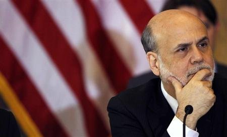 Chairman of the Federal Reserve Bank Bernanke attends the Treasury Department's Financial Stability Oversight Council in Washington