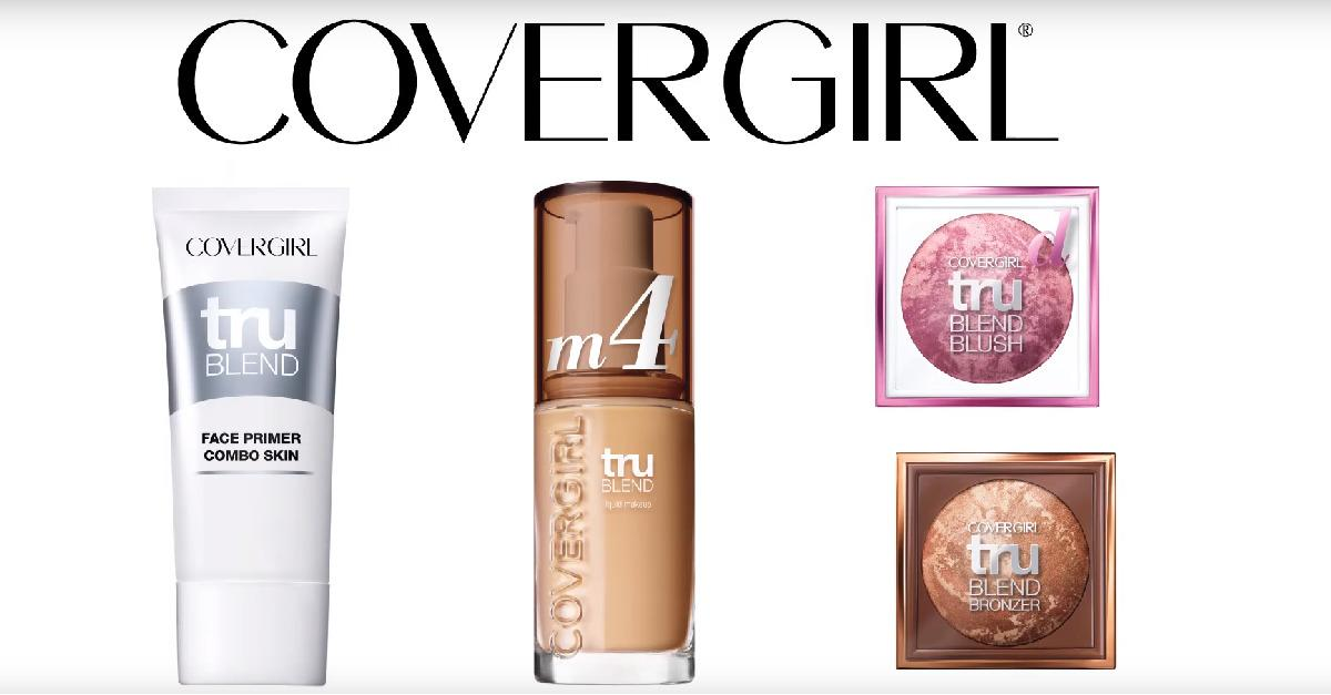 Try COVERGIRL® truBlend for all your face needs!