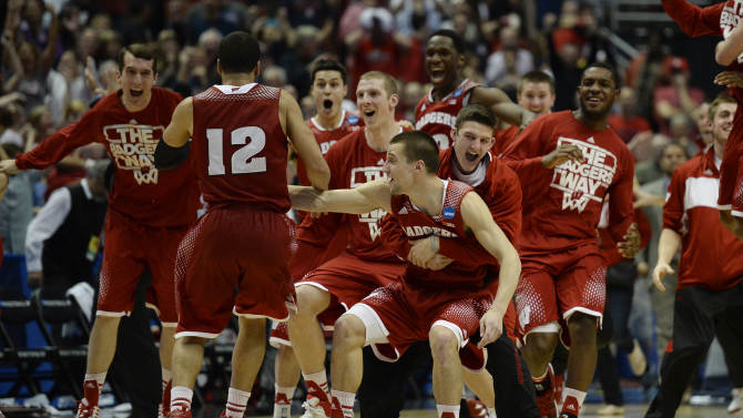 NCAA Basketball: NCAA Tournament-West Regional-Arizona vs Wisconsin