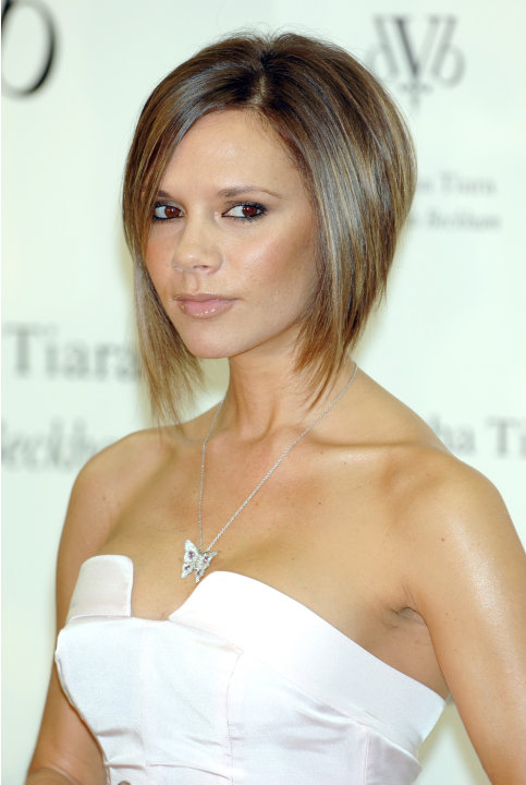 Victoria Beckham Attends a Press Conference to Promote Her New Jewelry Line from Samantha Tiara