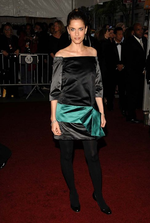 "Amanda Peet at ""Poiret: King of Fashion"" Costume Institute Gala at The Metropolitan Museum of Art."