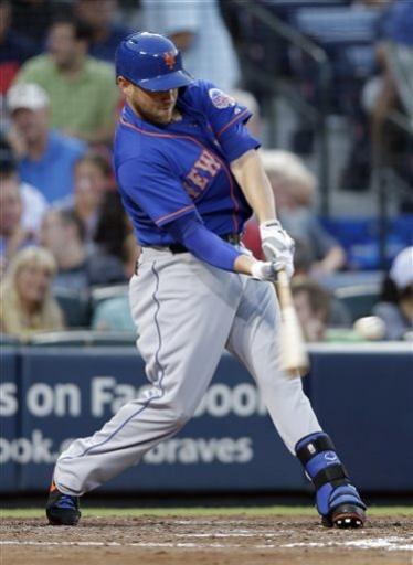 Wright homers twice in Mets' 4-3 win over Braves