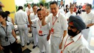 Polling stations opened Saturday for Singapore's most hotly contested general election in decades, with the opposition seeking to erode the dominance of the People's Action Party (PAP). Duration: 00.44