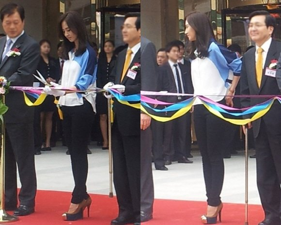 Girl's Generation Yuri's shows her perfect body shape
