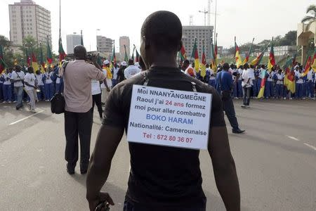 Thousands protest Boko Haram, support army in Cameroon