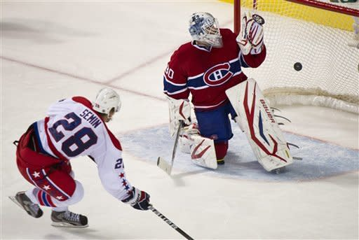 Capitals' Vokoun shuts out Canadiens