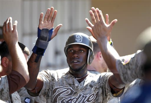 Alonso singles in 9th, Padres beat Rockies 12-11