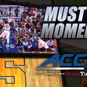 Rakeem Christmas Seals Syracuse Win Over LT | ACC Must See Moment