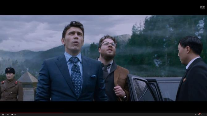 "North Korean officials have objected to elements of the comedy ""The Interview"" with Seth Rogen and James Franco."