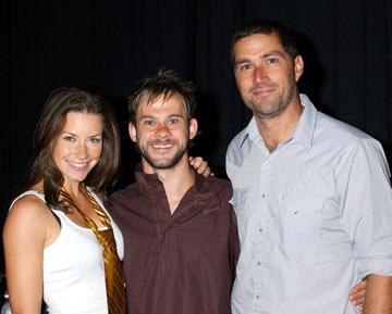Evangeline Lilly, Dominic Monaghan and Matthew Fox 2004 San Diego Comic-Con International - 7/24/2004