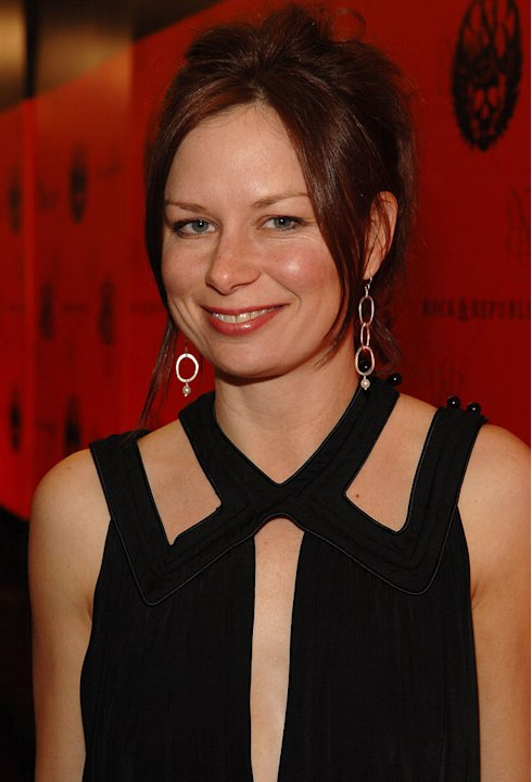 Mary Lynn Rajskub at Mercedes-Benz Fashion Week Fall 2007 - Rock & Republic.