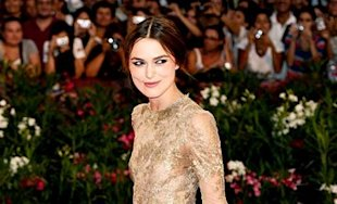 Keira Knightely is exquisite in Valentino Couture