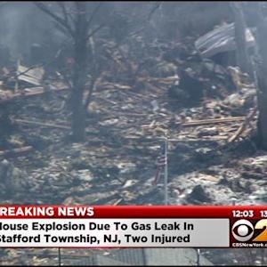 Natural Gas Blast Destroys Home, Injures 5 In New Jersey