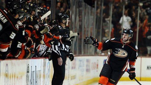 Ducks win rivalry game, beat Kings 4-3 in shootout