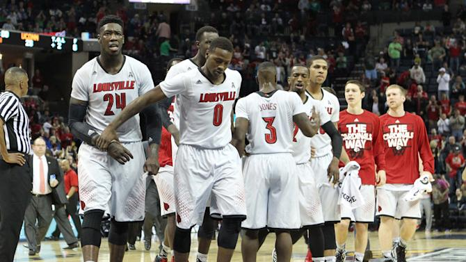 NCAA Basketball: American Athletic Conference Tournament-Louisville vs UConn