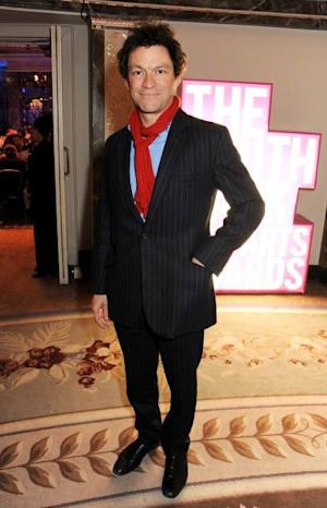 Dominic West arrives at the 2013 South Bank Sky Arts Awards at The Dorchester on March 12, 2013 in London -- Getty Images