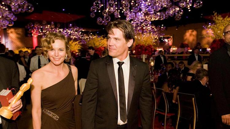 Oscars Governors Ball 2008 Diane Lane Josh Brolin