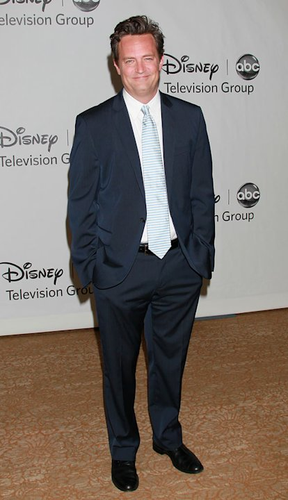 """Mr. Sunshine's"" Matthew Perry arrives at the Disney/ABC Television 2010 TCA Summer Press Tour on August 1, 2010 in Beverly Hills, California."