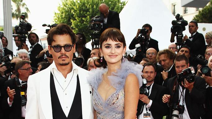 Fashion Report Card Cannes Film Festival 2011 Johnny Depp Penelope Cruz