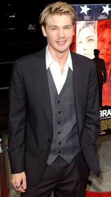 Chad Michael Murray at the Los Angeles premiere of MGM's Home of the Brave