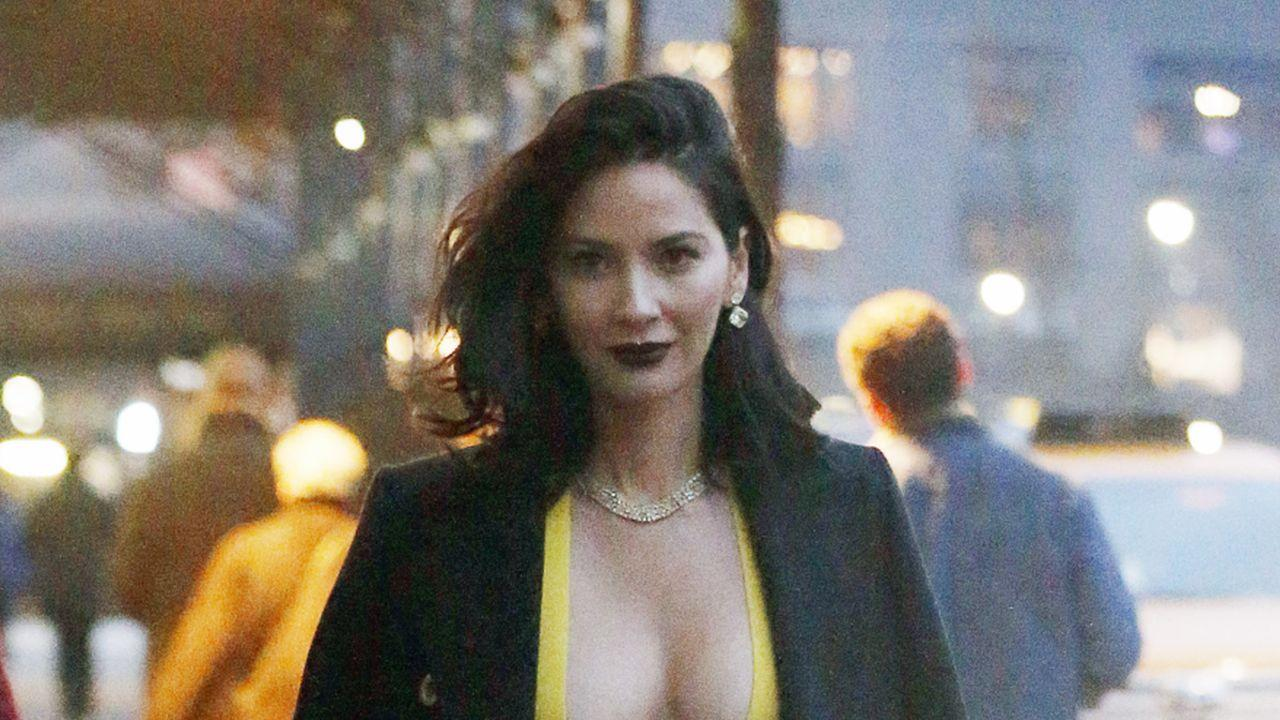 Olivia Munn Sports Sexy Gown for 'Ocean's Eight' Cameo in NYC as Aaron Rodgers' Family Feud Goes Public