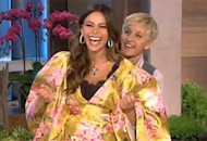 Sofia Vergara and Ellen DeGeneres | Photo Credits: Ellen