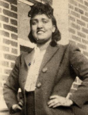 This 1940s photo made available by the family shows Henrietta Lacks. In 1951, a doctor in Baltimore removed cancerous cells from Lacks without her knowledge or consent. Those cells eventually helped lead to a multitude of medical treatments and formed the groundwork for the multibillion-dollar biotech industry. On Wednesday, Aug. 7, 2013, under an agreement announced by the federal government, Lacks family members will have a say in how such research proceeds. (AP Photo/Lacks Family via The Henrietta Lacks Foundation)