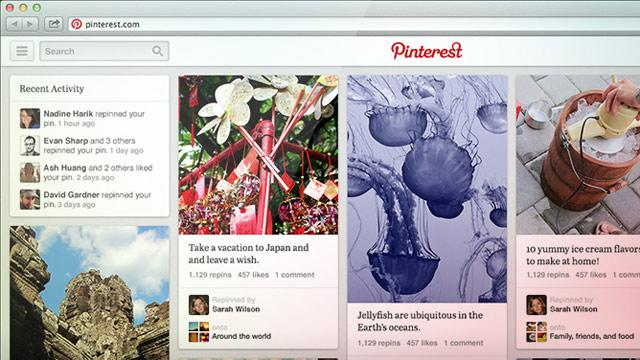 Pinterest Shares Its New Look and Pin Discovery Features With All